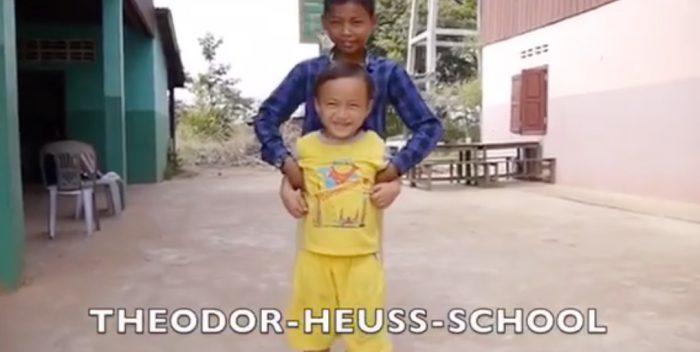 Klasse 8d unterstützt Kinder in Kambodscha