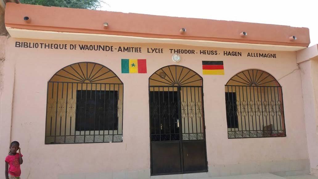 THG-Bibliothek in Waoundé