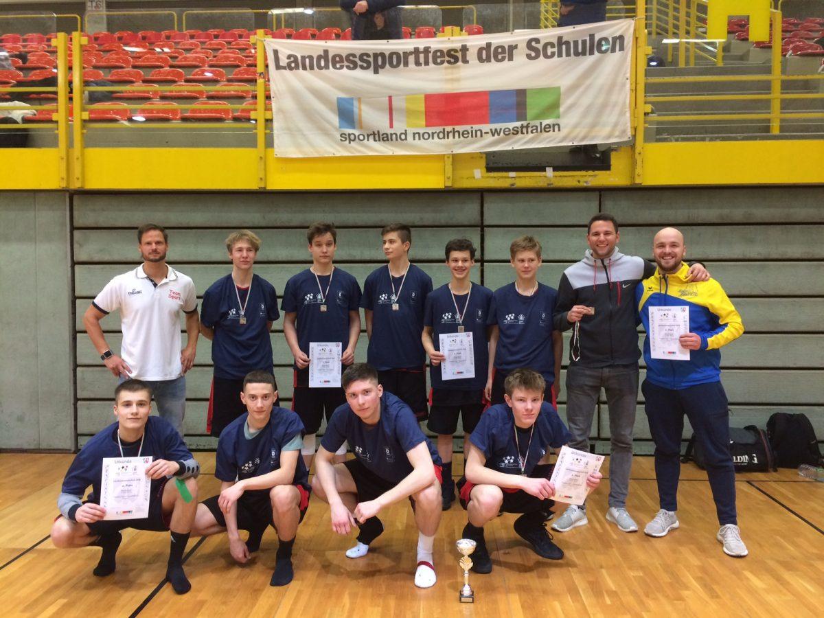 Drei Vize-Titel bei den Basketball-Landesmeisterschaften für das THG