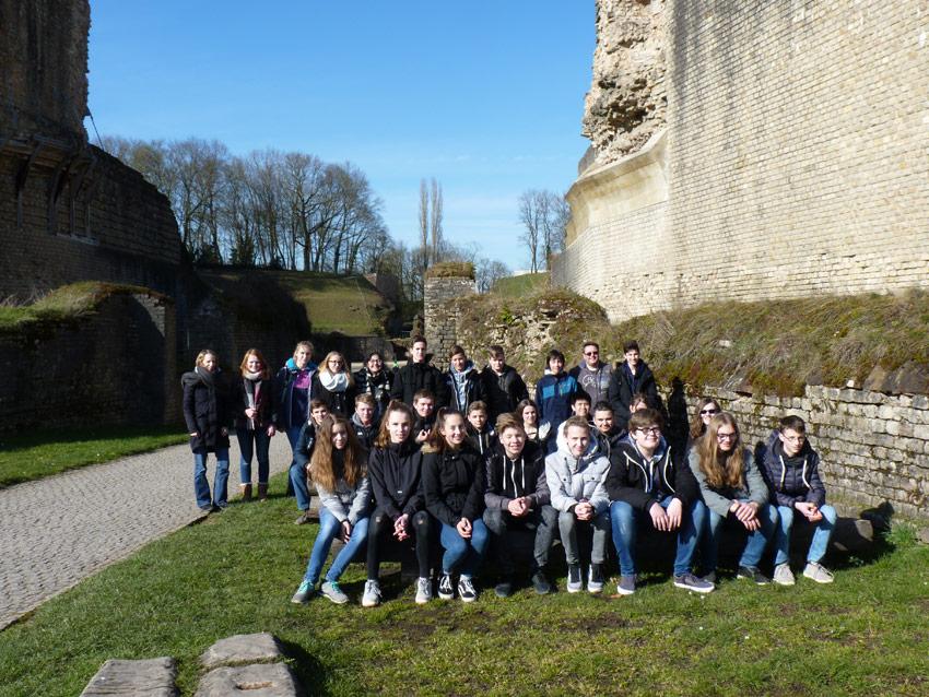 Kulturhistorische Tagesexkursion der Lateinkurse des Jahrgangs 9 (Sgz / Füg)