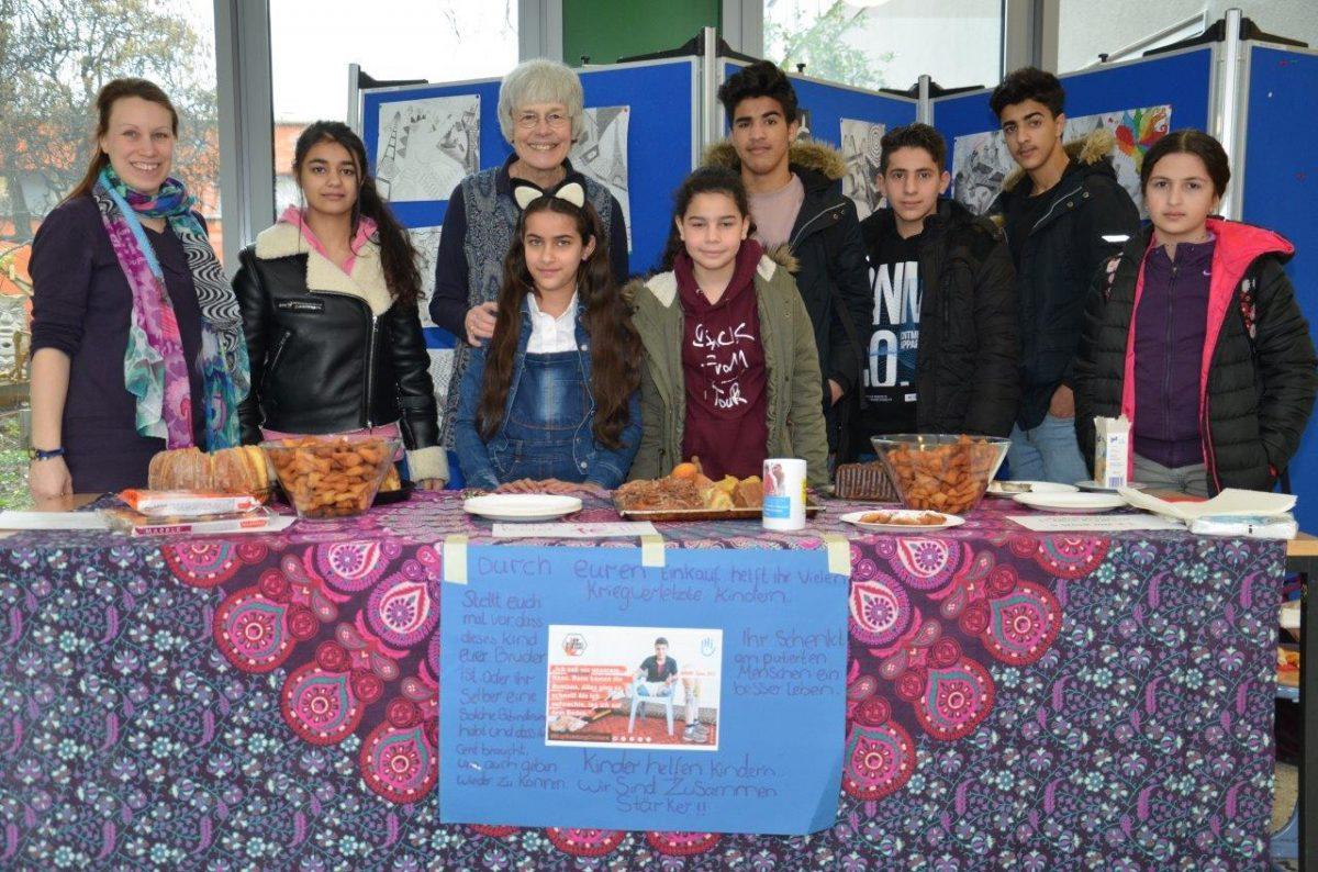 Spendenaktion mit Kuchenverkauf – Zusammen sind wir stärker!!!