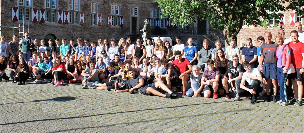 Sport verbindet – Sporthelferfortbildung für Hagener Schüler