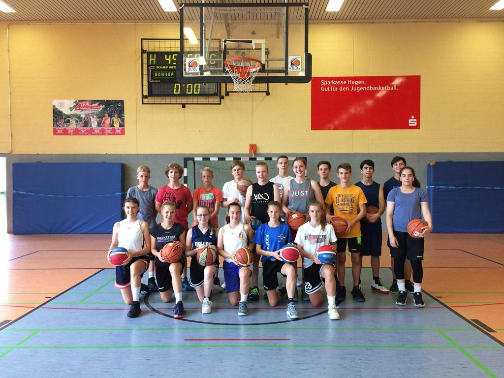 THG bildet 18 Schüler und Schülerinnen zu Basketball-Sporthelfern aus