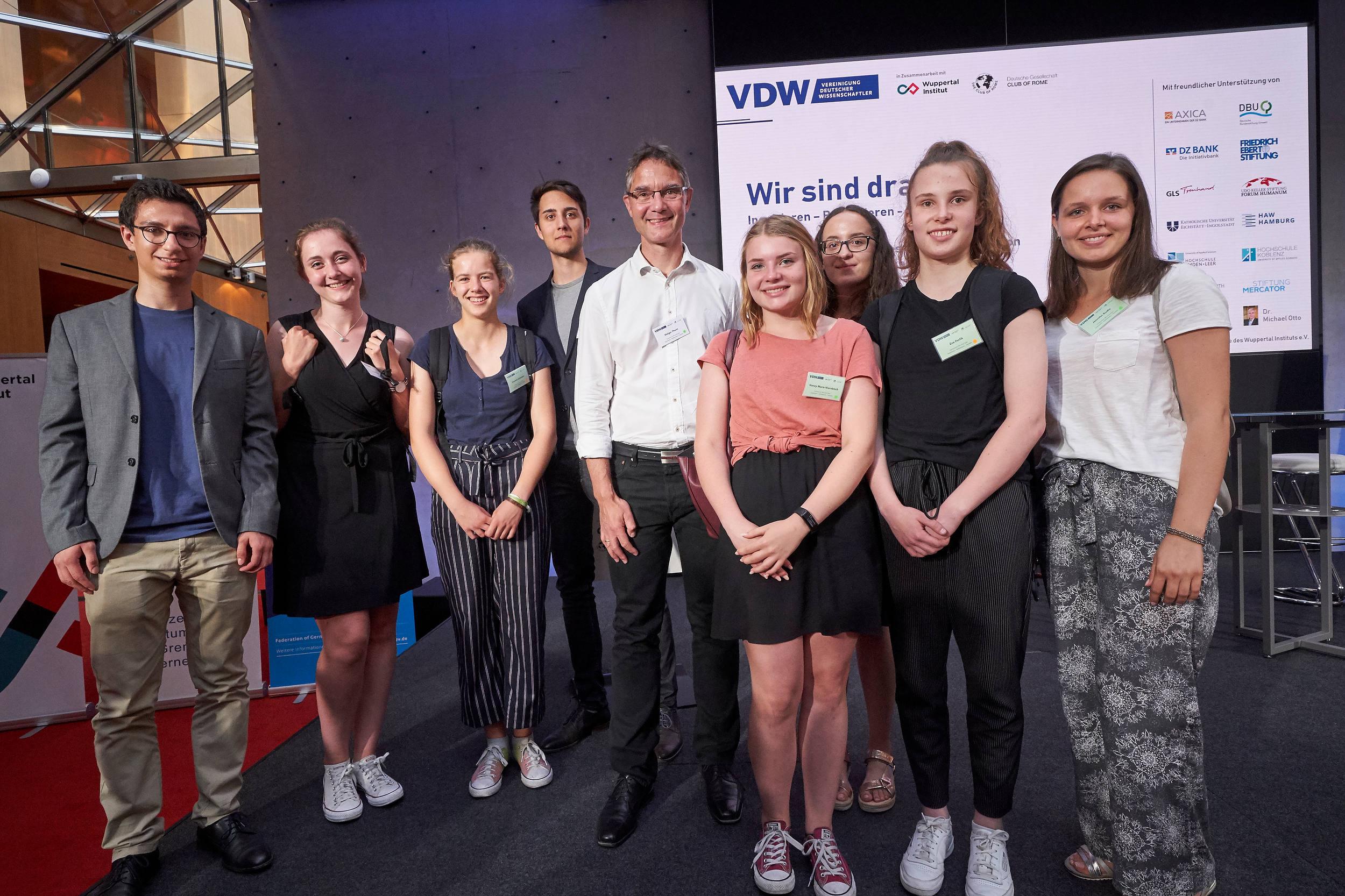 VDW-Symposium in Berlin mit einem gemeinsamen Ziel: Eine bessere Welt.
