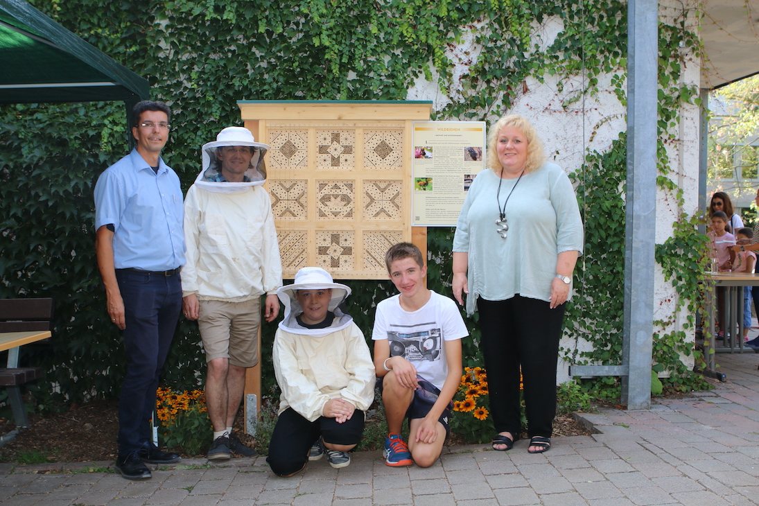 Insektenhotel am THG