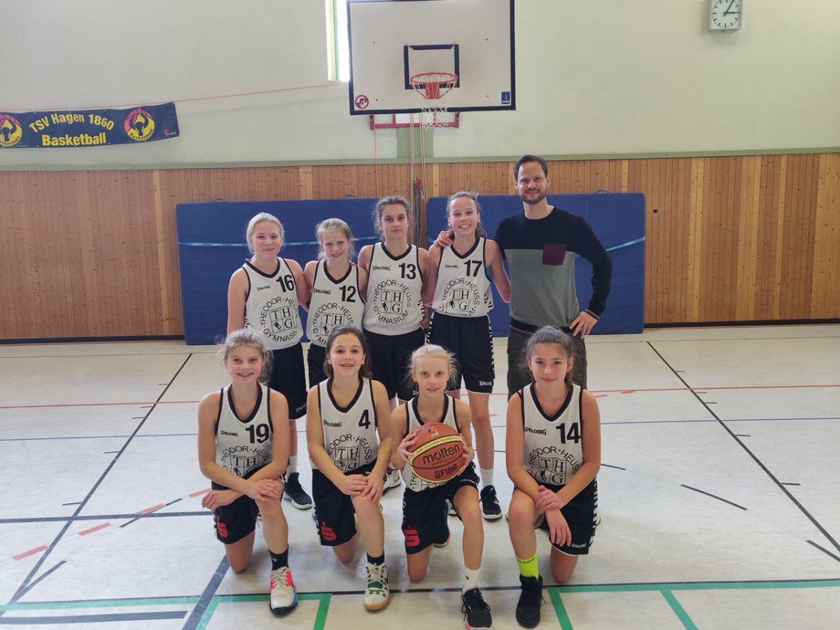 Das THG dominiert die Basketball-Stadtmeisterschaften
