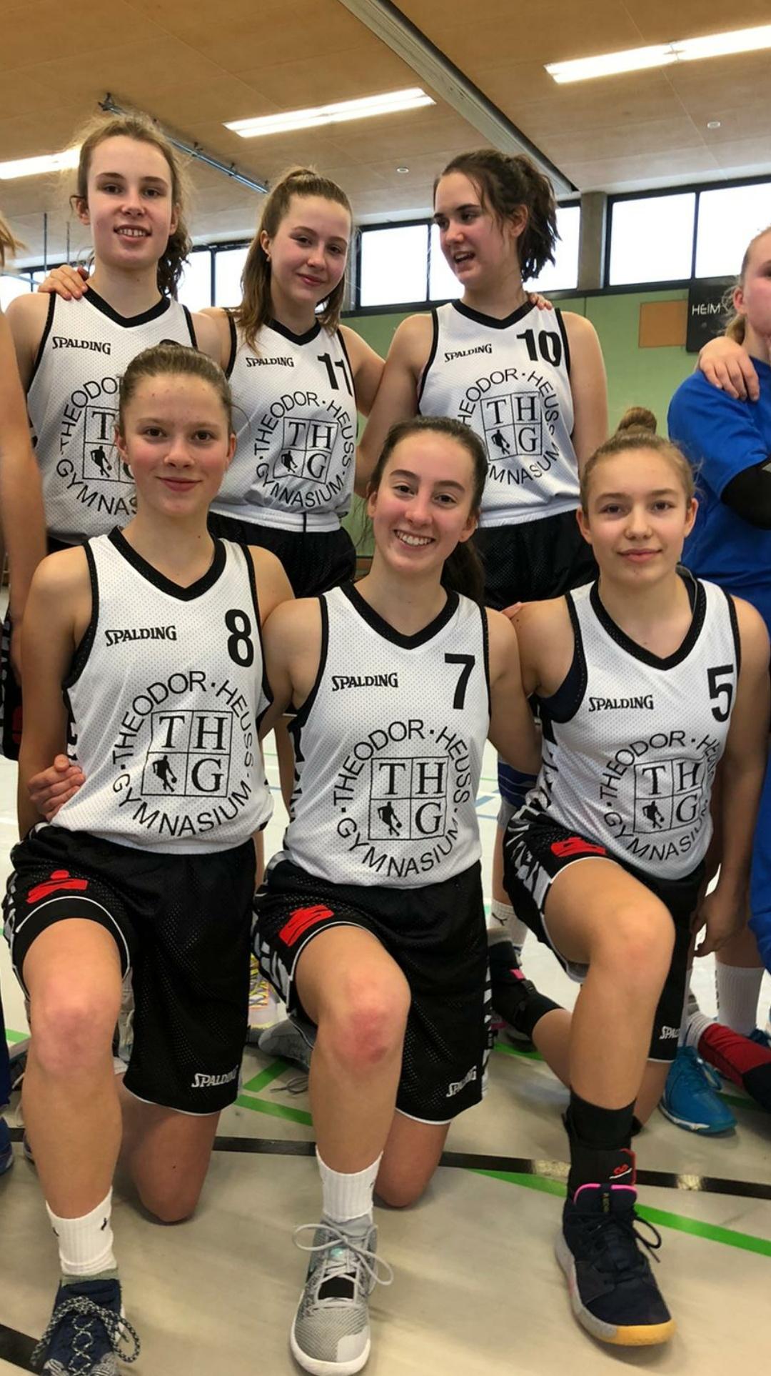 Basketball-Schulmeisterschaften 2020: Auch die älteren THG-Mädels triumphieren und ziehen ins Landesfinale ein
