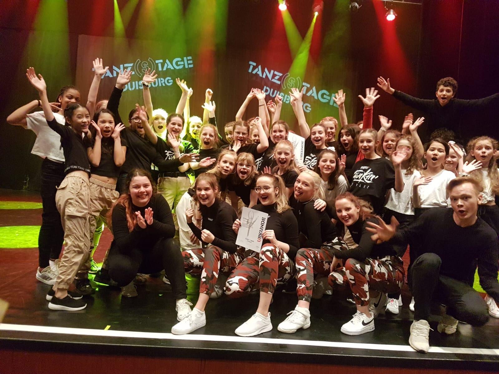 THG begeistert bei Duisburger Tanz(s)tagen