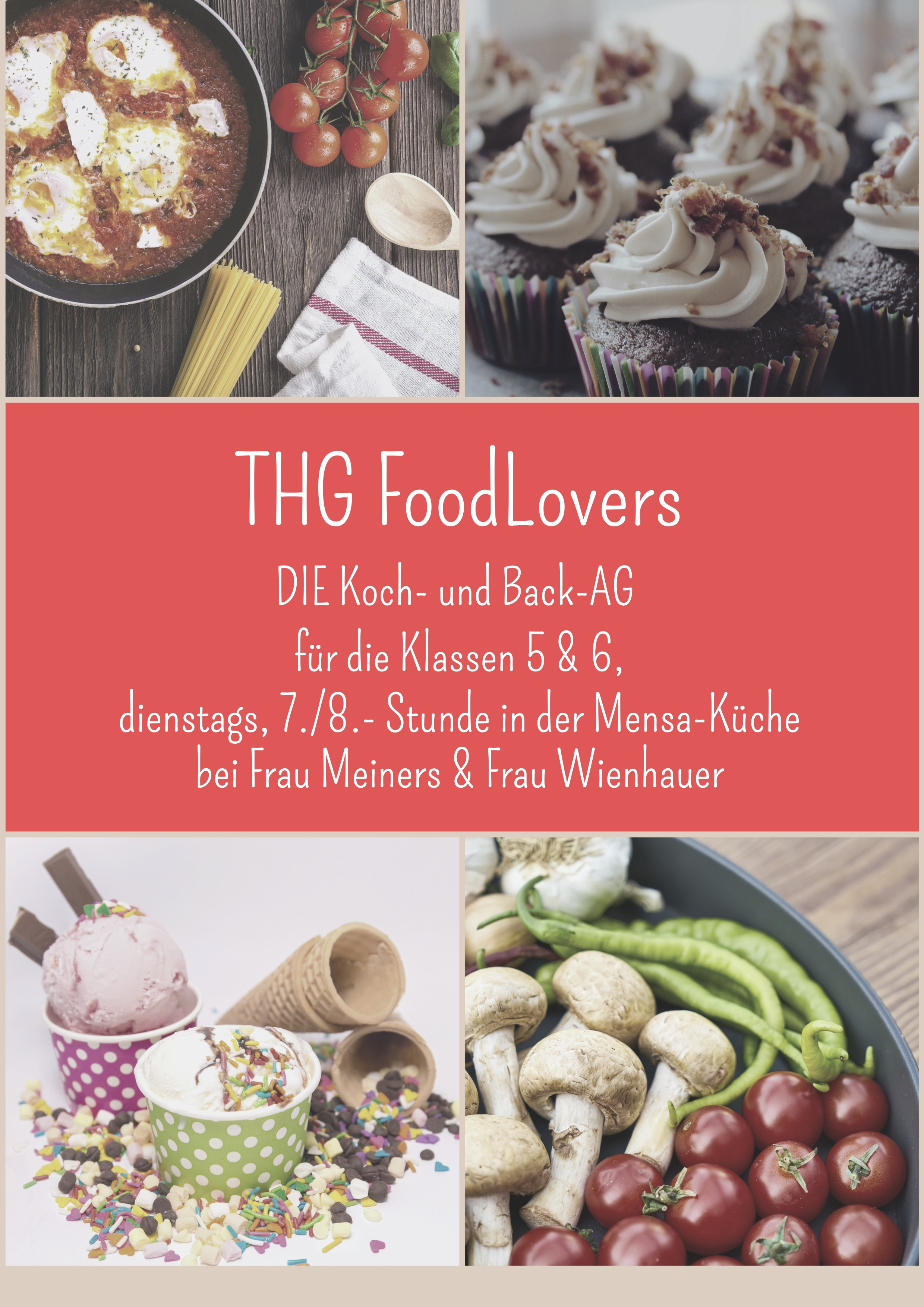 Neu am THG – THG FoodLovers – DIE Koch- und Back-AG am THG