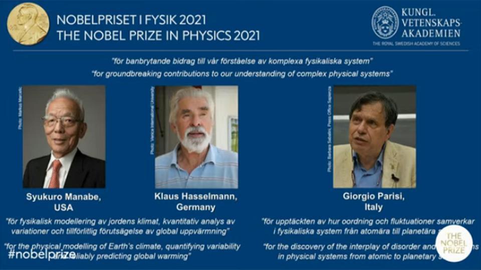 Der Physik-Nobelpreis, der Klimawandel und das THG